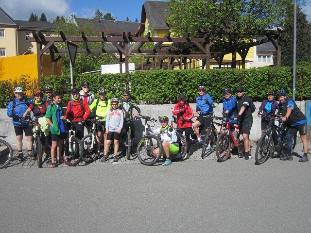 Mountainbike-Sternfahrt 2017