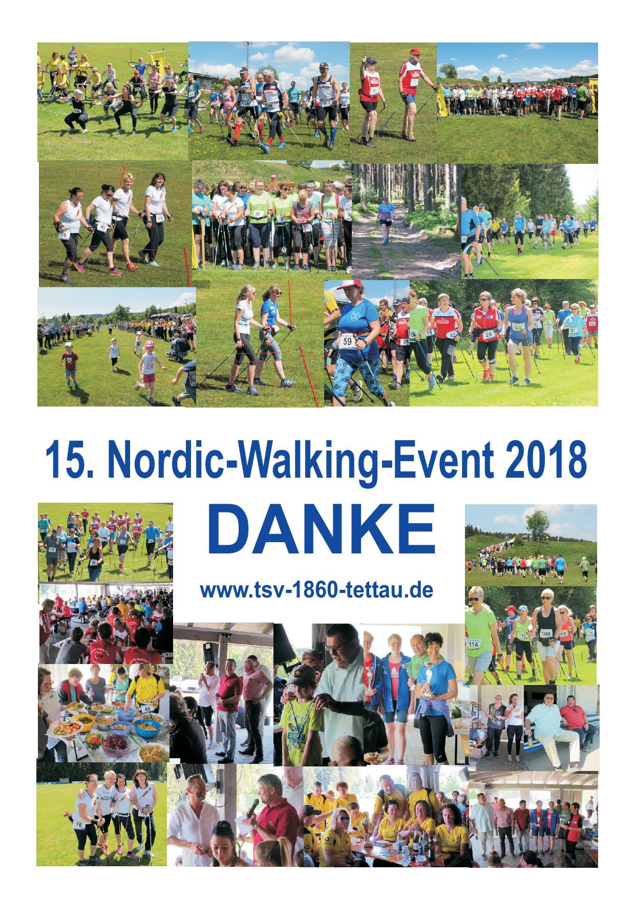 Nordic-Walking-Event 2018 VIELEN DANK!