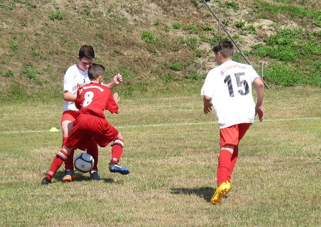 55 Treffer beim traditionellen  Jugendsportfest des TSV 1860 Tettau
